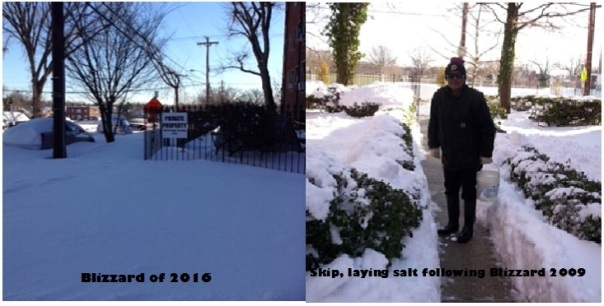 Blizzard 2016 and 2009